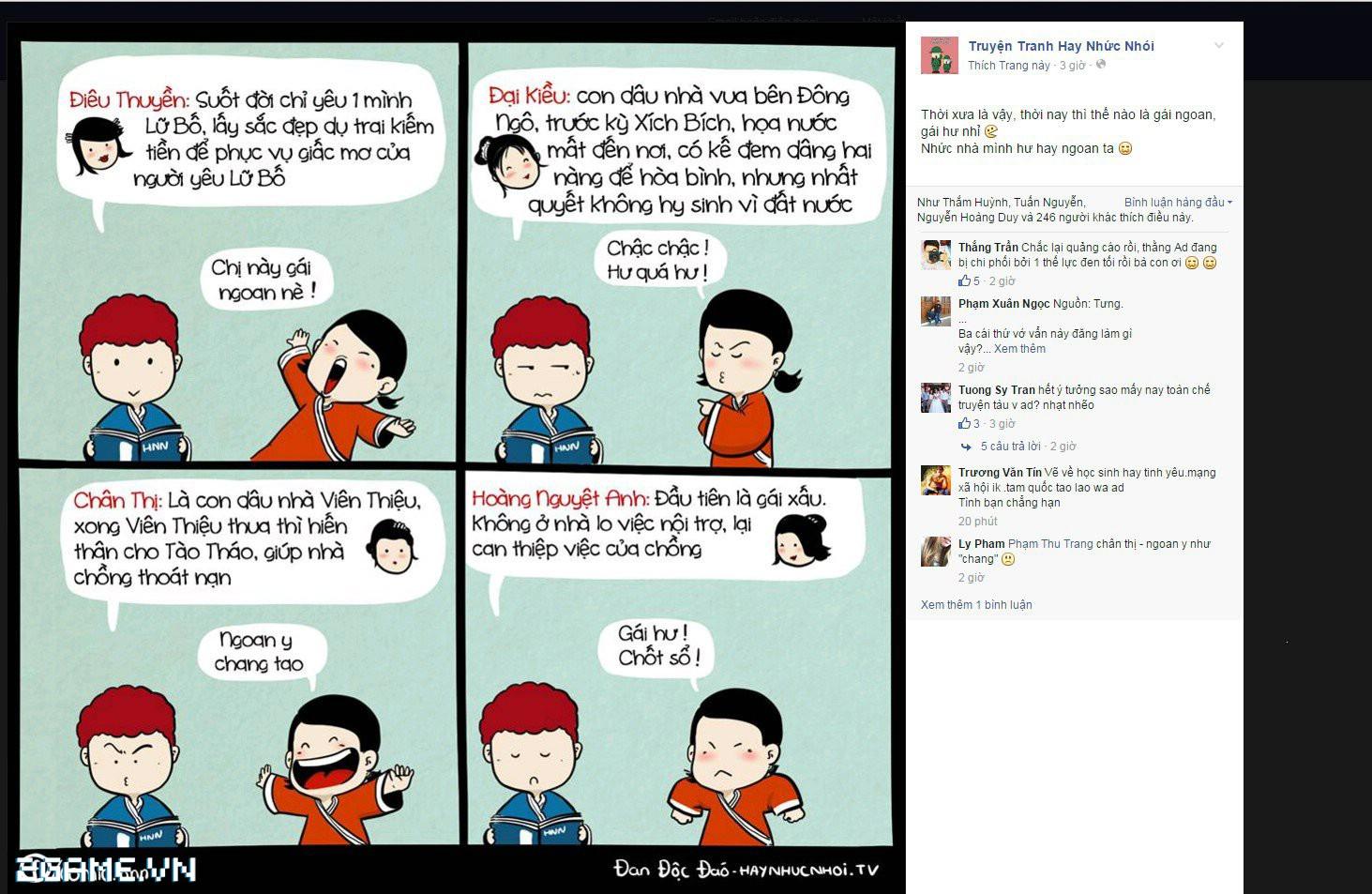 Thịnh Thế Tam Quốc: Ngập chuyện gái ngoan hư theo cách nhìn Tam Quốc trên mạng 1