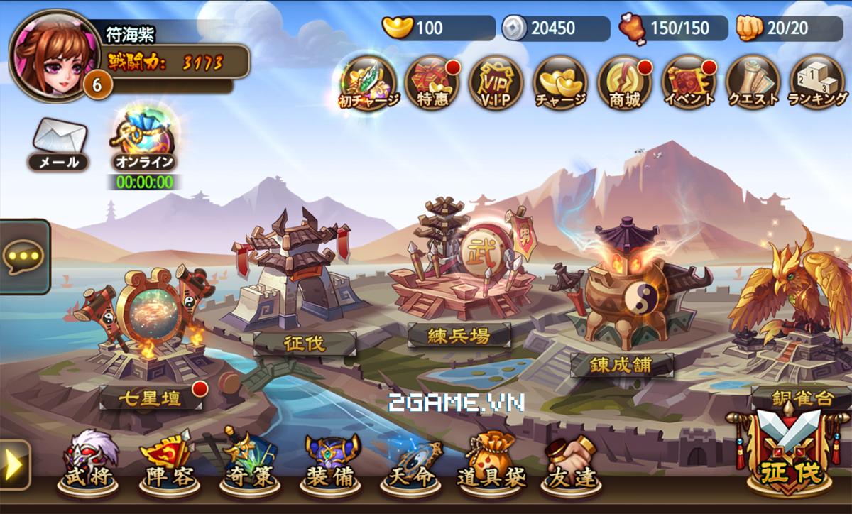 Game Soái Ca Tam Quốc mobile cập bến Việt Nam 0