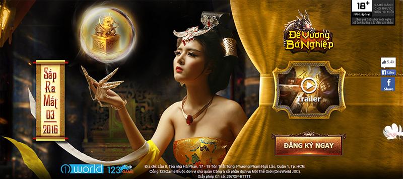 Đế Vương Bá Nghiệp ra mắt teaser, hẹn mở game vào tháng 3 tới 0