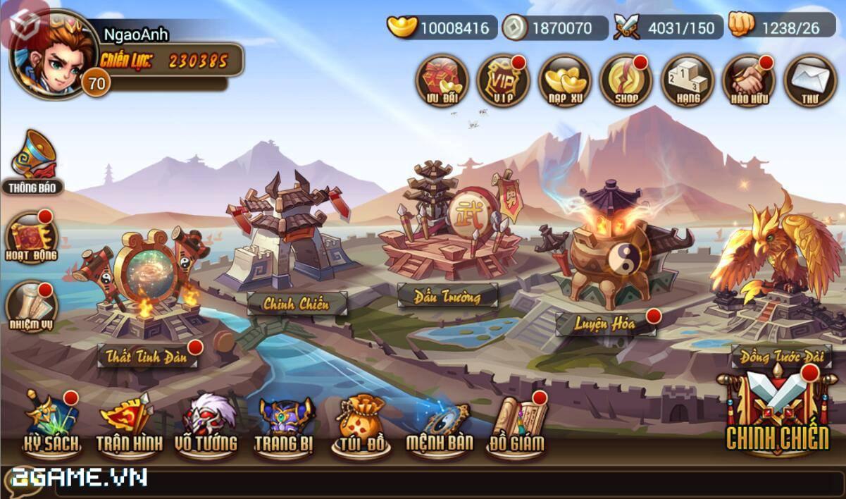 Chơi thử game Soái Ca Tam Quốc mobile trước thềm ra mắt tại Việt Nam 4