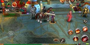 Game thủ Mộng Vương Quyền hào hứng trong ngày ra mắt