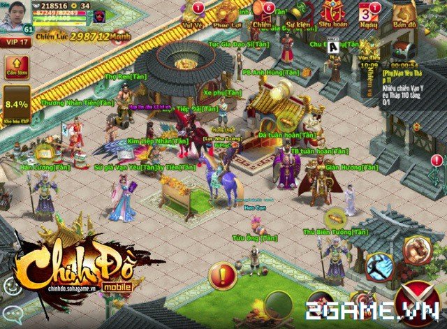 Chinh Đồ Mobile được bầu chọn là game