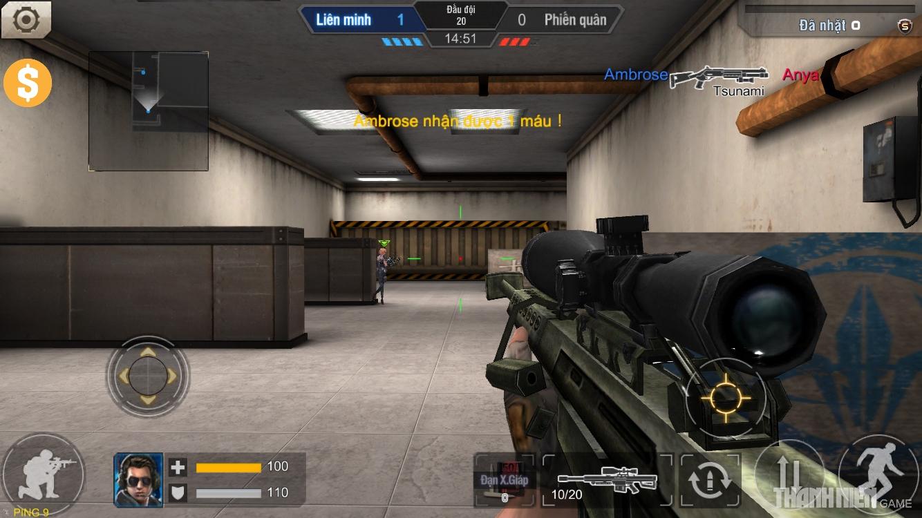 Tập Kích mobile: Tìm hiểu hệ thống súng ngắm 3