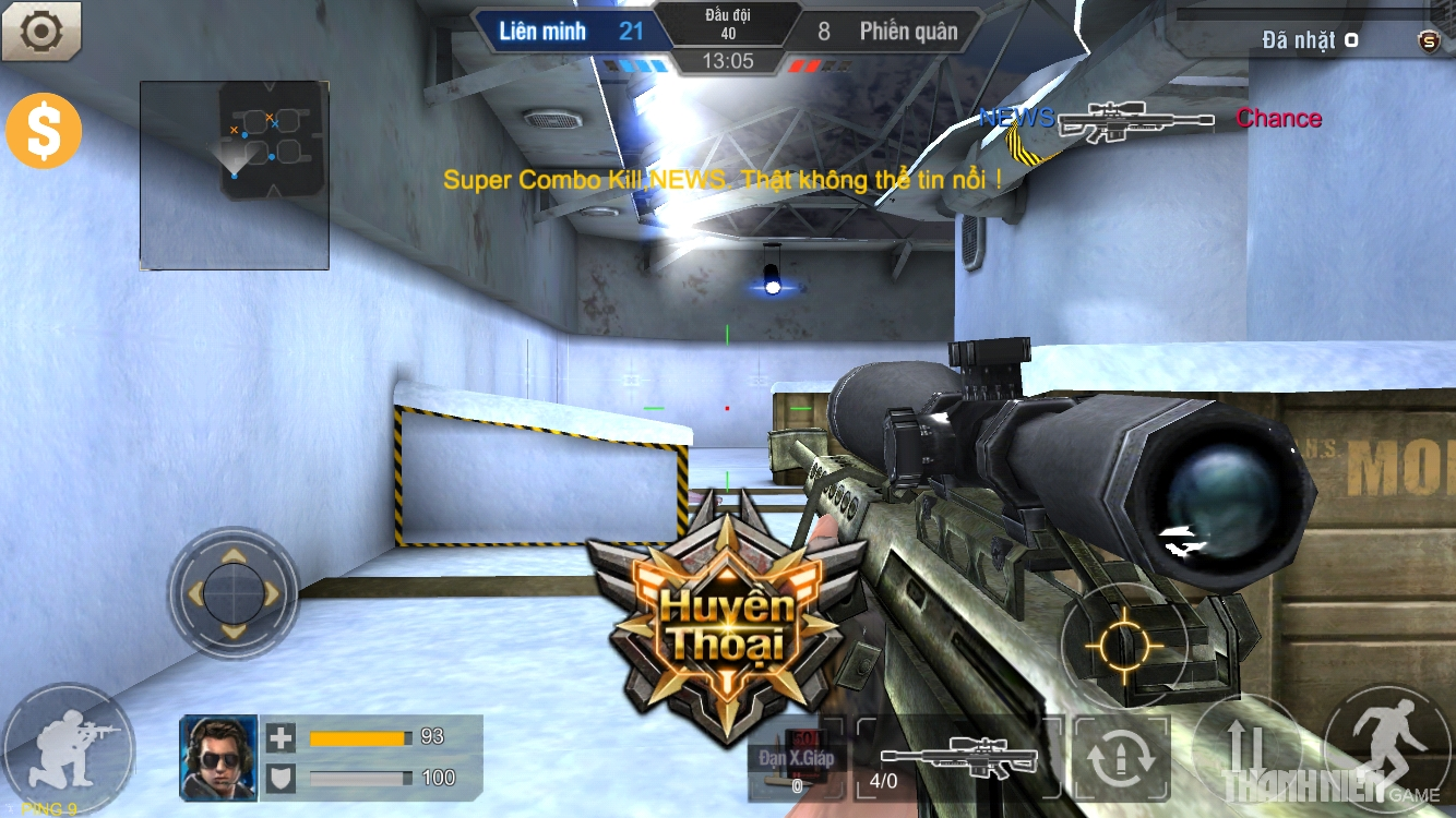 Tập Kích mobile: Tìm hiểu hệ thống súng ngắm 4