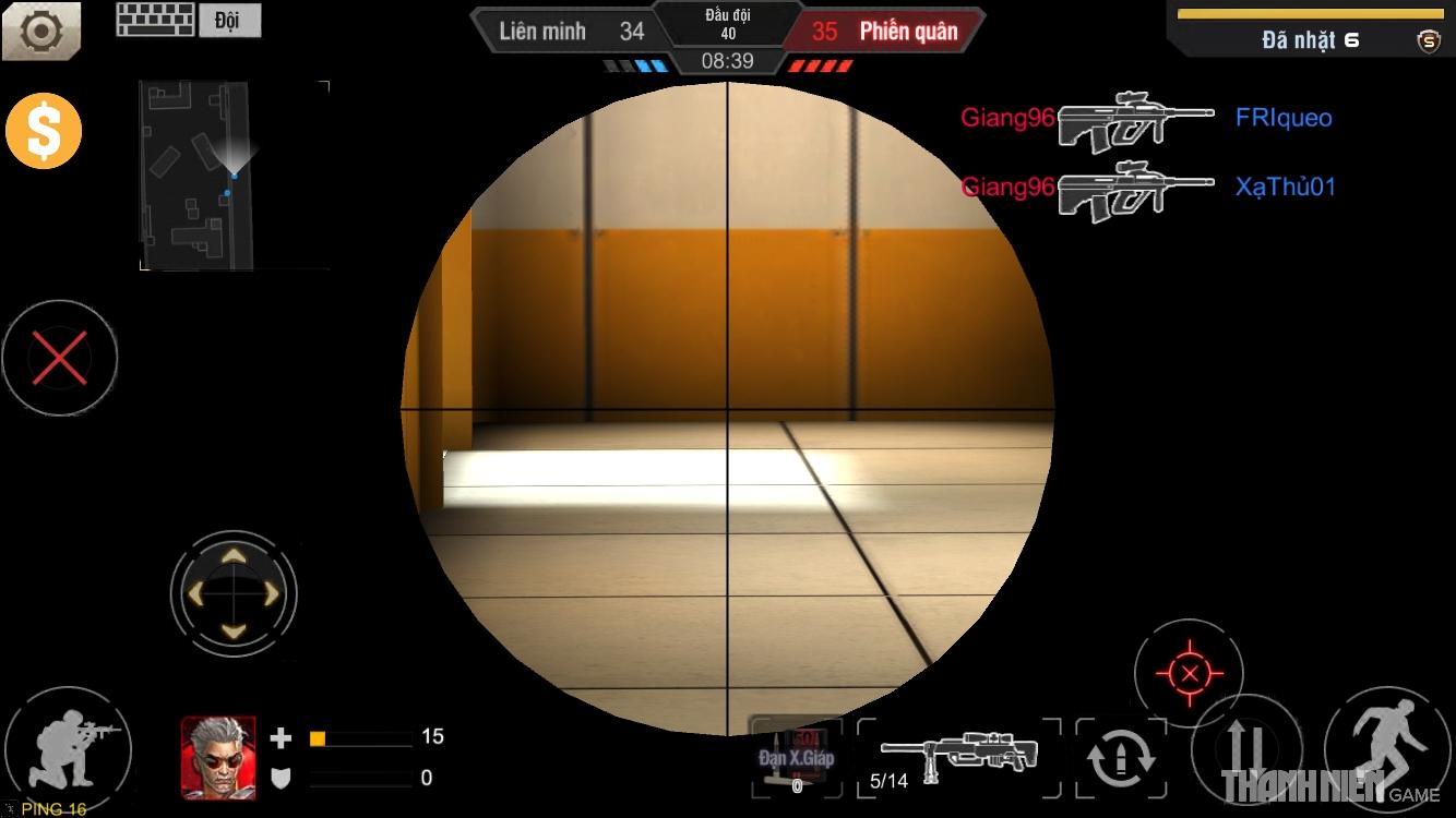 Tập Kích mobile: Tìm hiểu hệ thống súng ngắm 6