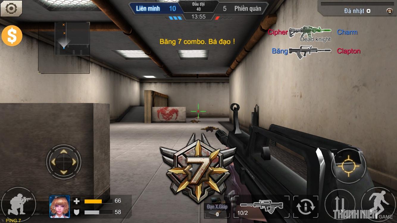 Tập Kích mobile: Tìm hiểu hệ thống súng trường 10