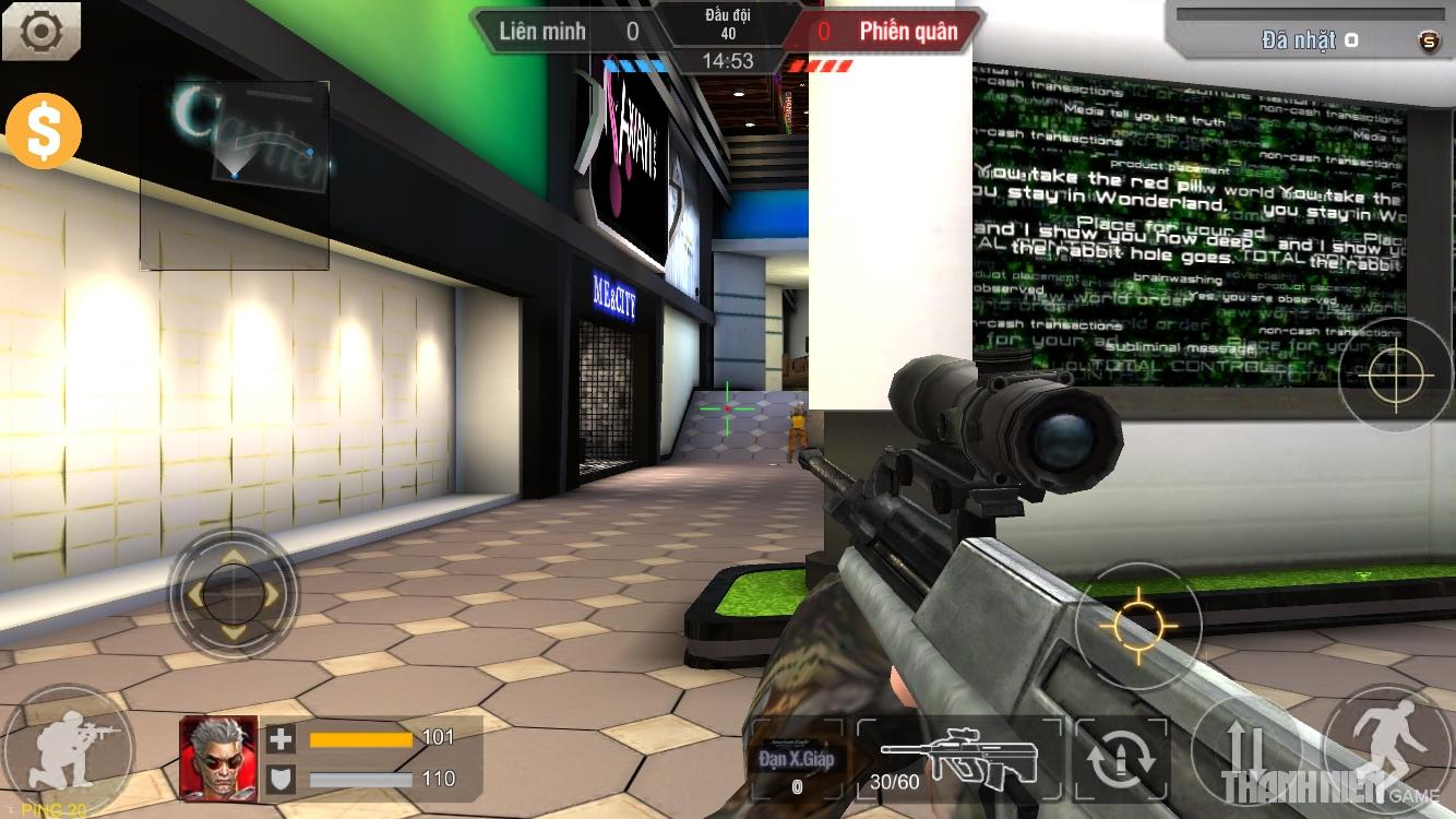 Tập Kích mobile: Tìm hiểu hệ thống súng trường 6