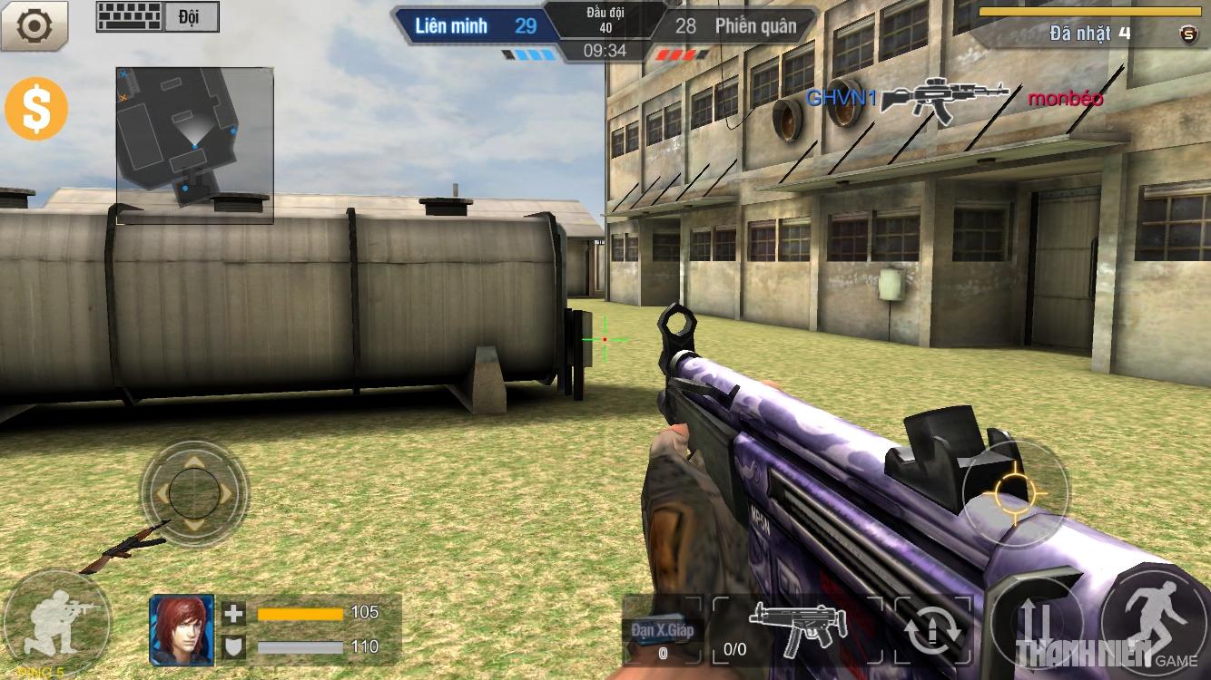 Tập Kích mobile: Tìm hiểu hệ thống súng trường 8