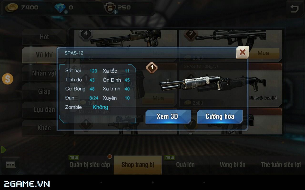 Tập Kích mobile: Mẹo chọn súng phù hợp với từng bản đồ trong game 1
