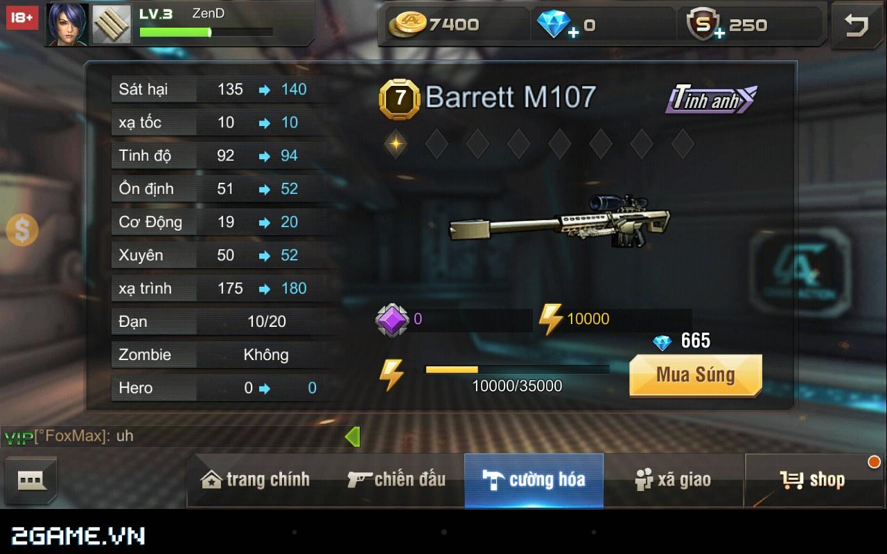 Tập Kích mobile: Mẹo chọn súng phù hợp với từng bản đồ trong game 4