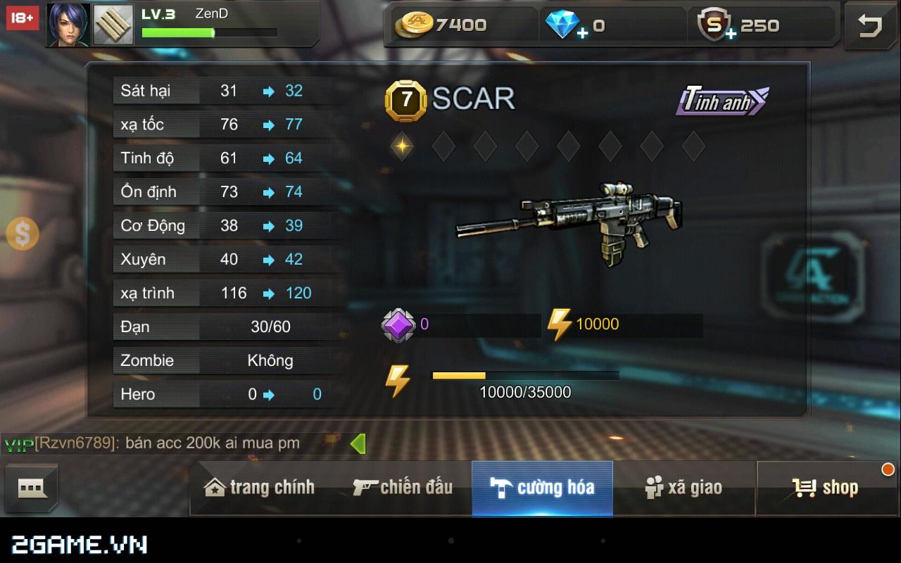 Tập Kích mobile: Mẹo chọn súng phù hợp với từng bản đồ trong game 6