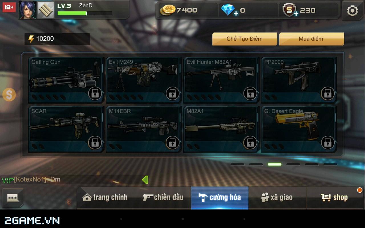 Tập Kích mobile: Mẹo chọn súng phù hợp với từng bản đồ trong game 7
