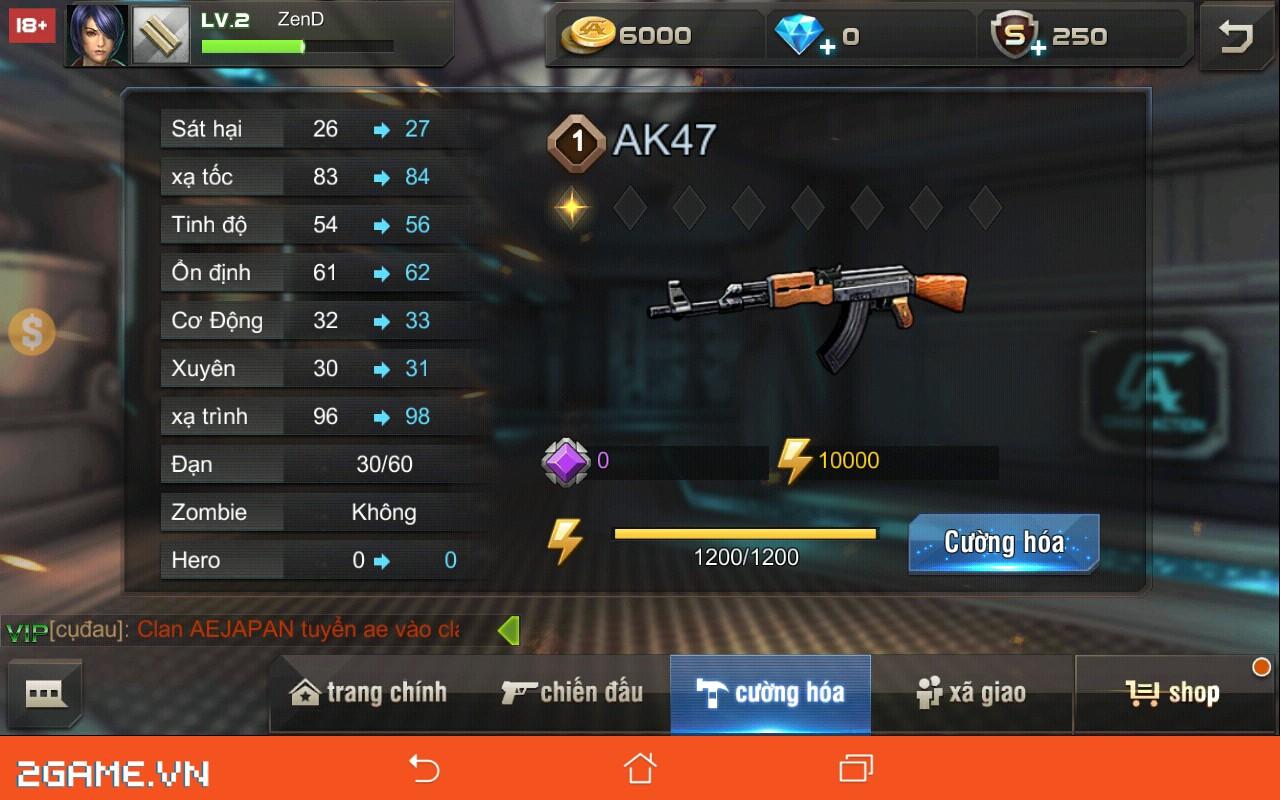 Tập Kích mobile: Mẹo chọn súng phù hợp với từng bản đồ trong game 2