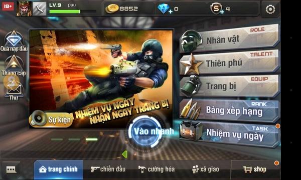 Hướng dẫn cách độ súng trong game Tập Kích mobile 0