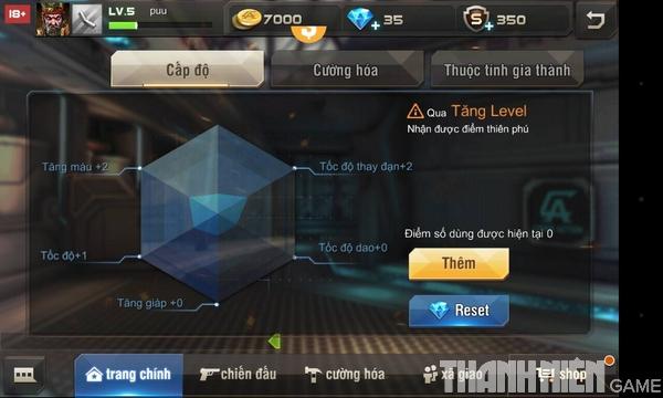 Hướng dẫn cách độ súng trong game Tập Kích mobile 1