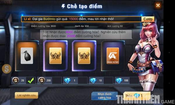 Hướng dẫn cách độ súng trong game Tập Kích mobile 2