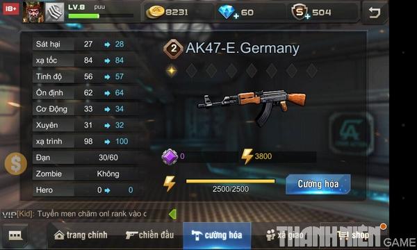 Hướng dẫn cách độ súng trong game Tập Kích mobile 6