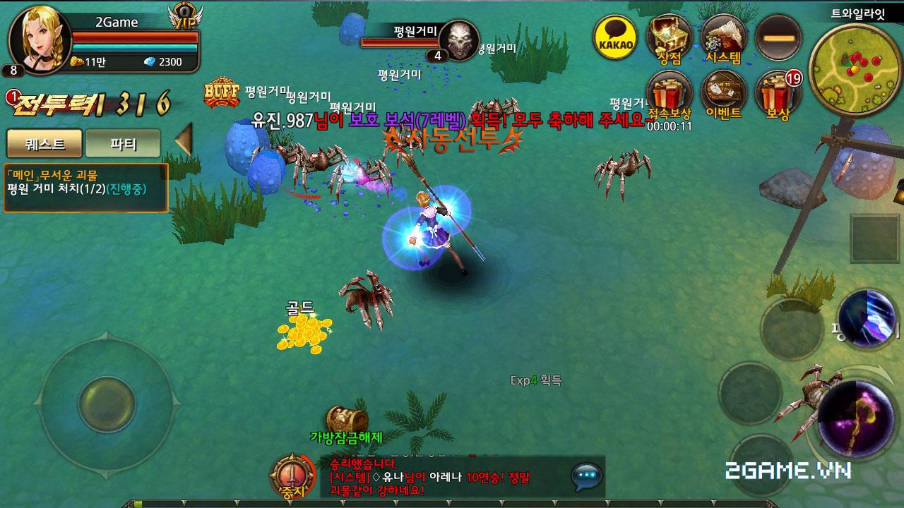 Game Đấu Ma 3D mobile tỏ ra khá tương đồng với game hot MU Origin VN 0