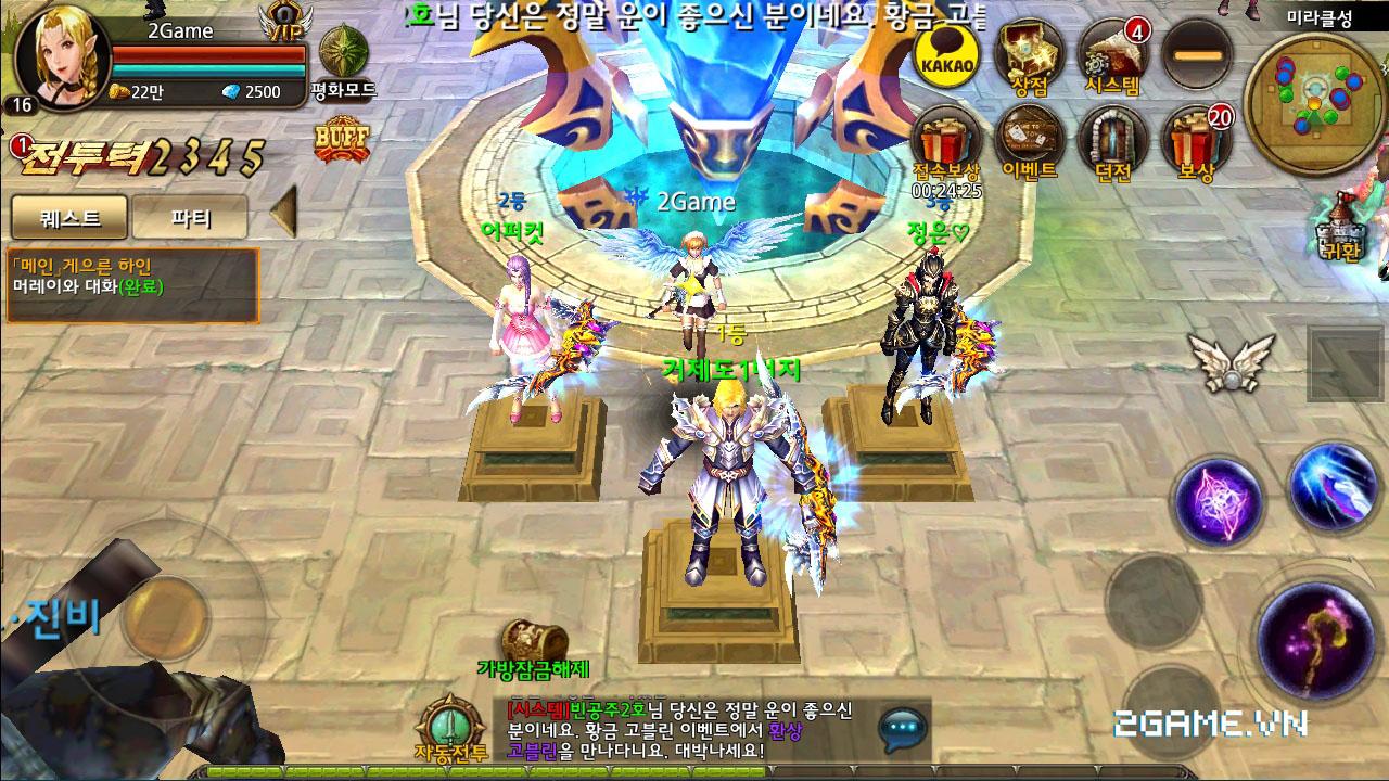 Game Đấu Ma 3D mobile tỏ ra khá tương đồng với game hot MU Origin VN 1