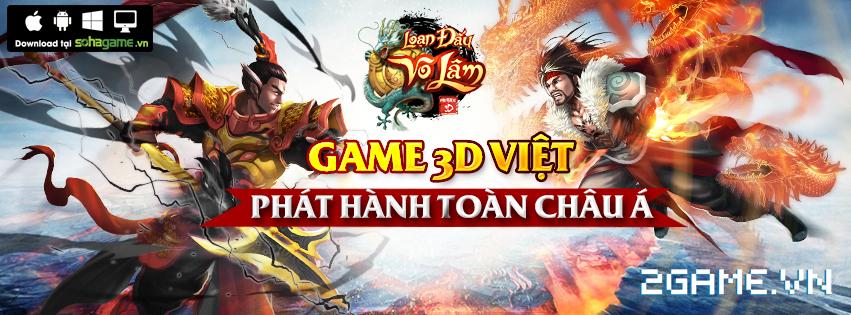 Loạn Đấu Võ Lâm - Game online Việt Nam sản xuất sẽ được phát hành toàn cầu 0