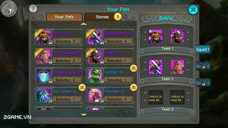 Taichi Panda VN có kho hệ thống pet trợ chiến khá hoành tráng đấy! 0
