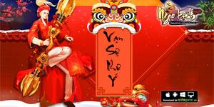 Game thủ Việt nô nức diện áo dài, đổi bánh chưng trong Ngạo Kiếm Mobile