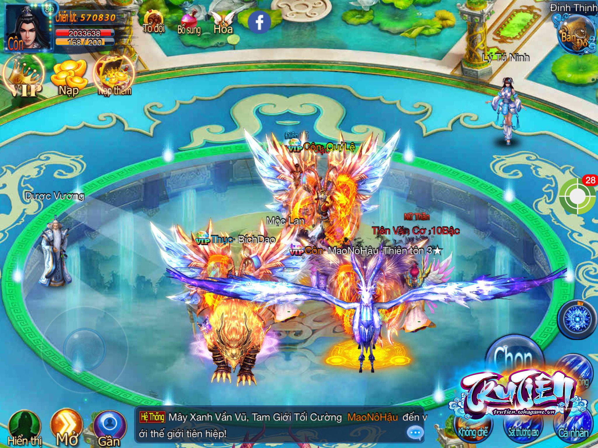 Tru Tiên Mobile cho phép người chơi hóa Tề Thiên Đại Thánh đón chào năm Khỉ 4