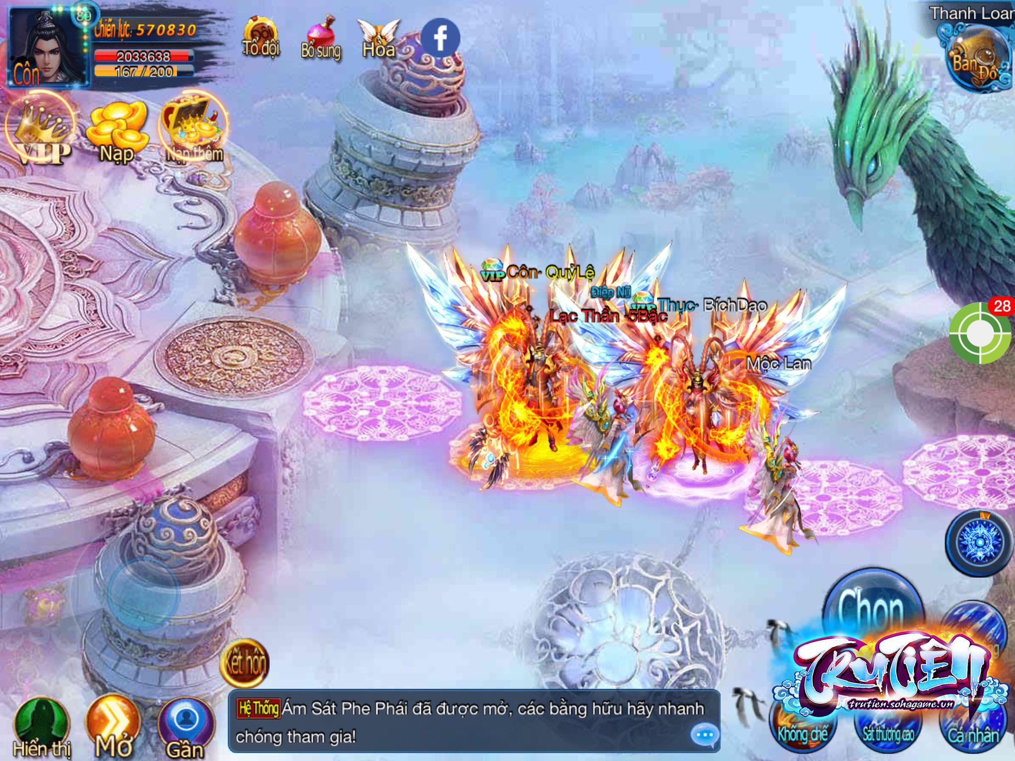 Tru Tiên Mobile cho phép người chơi hóa Tề Thiên Đại Thánh đón chào năm Khỉ 5