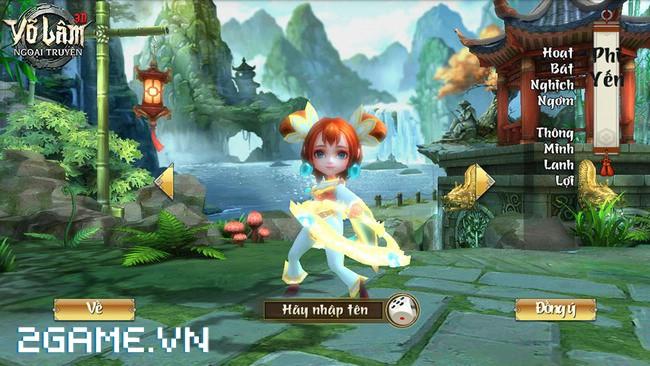 Cận cảnh 4 nhân vật chính trong gMO 3D Võ Lâm Ngoại Truyện Mobile 2