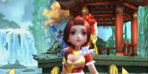 Cận cảnh 4 nhân vật chính trong gMO 3D Võ Lâm Ngoại Truyện Mobile