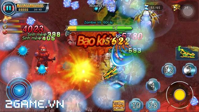 Điểm qua 5 cách 'giúp' người chơi trở thành thây ma trong Zombie War ngày Closed Beta 4