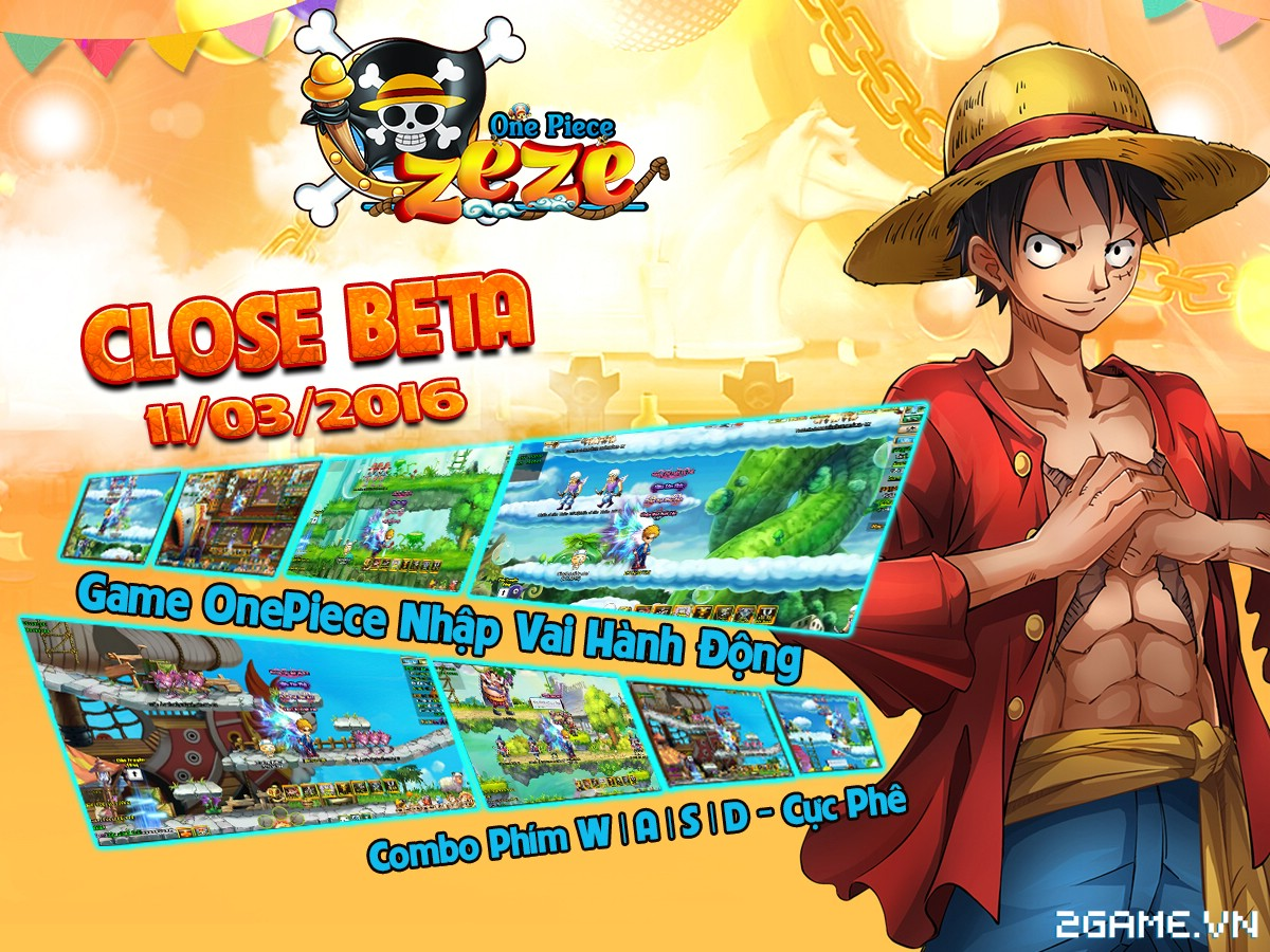 Tặng 515 giftcode game One Piece Zeze 0