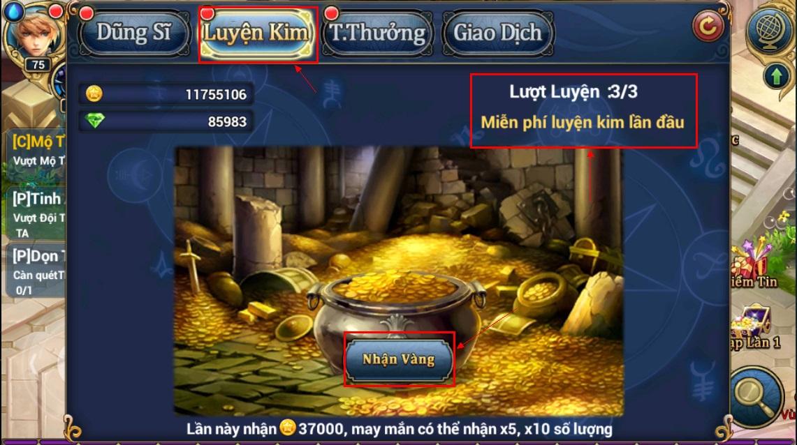 King Online - Tìm hiểu tính năng KNB - Ruby miễn phí 9
