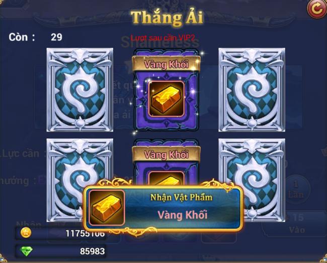 King Online - Tìm hiểu tính năng Phụ bản 6