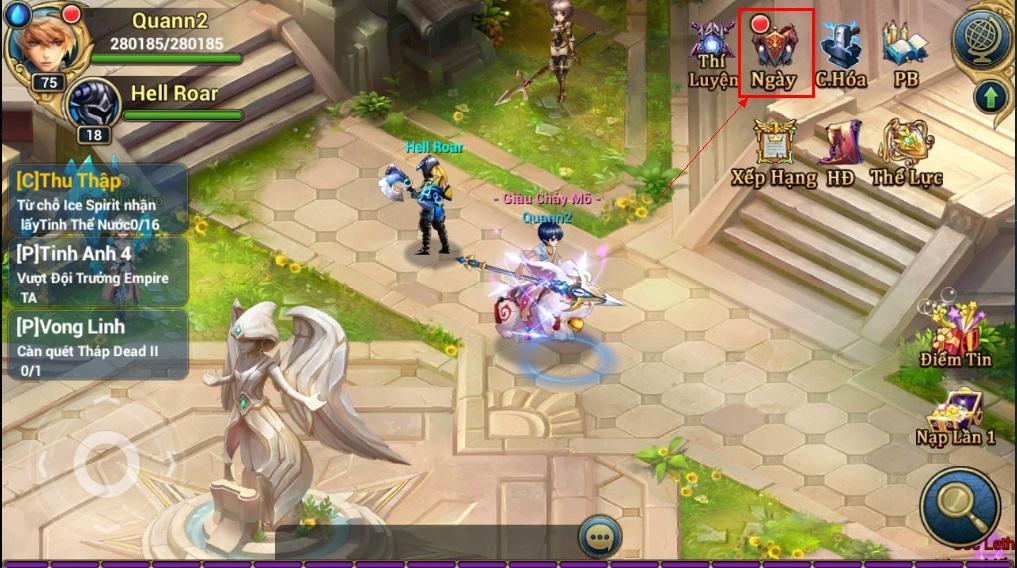 King Online - Tìm hiểu tính năng nhiệm vụ ingame 7