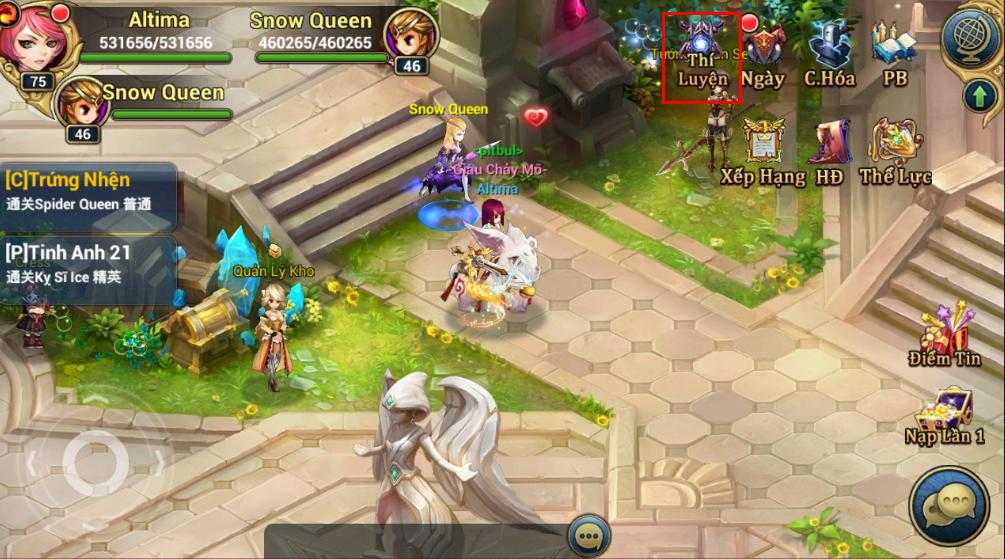 King Online - Tìm hiểu tính năng Tháp Thí Luyện 0