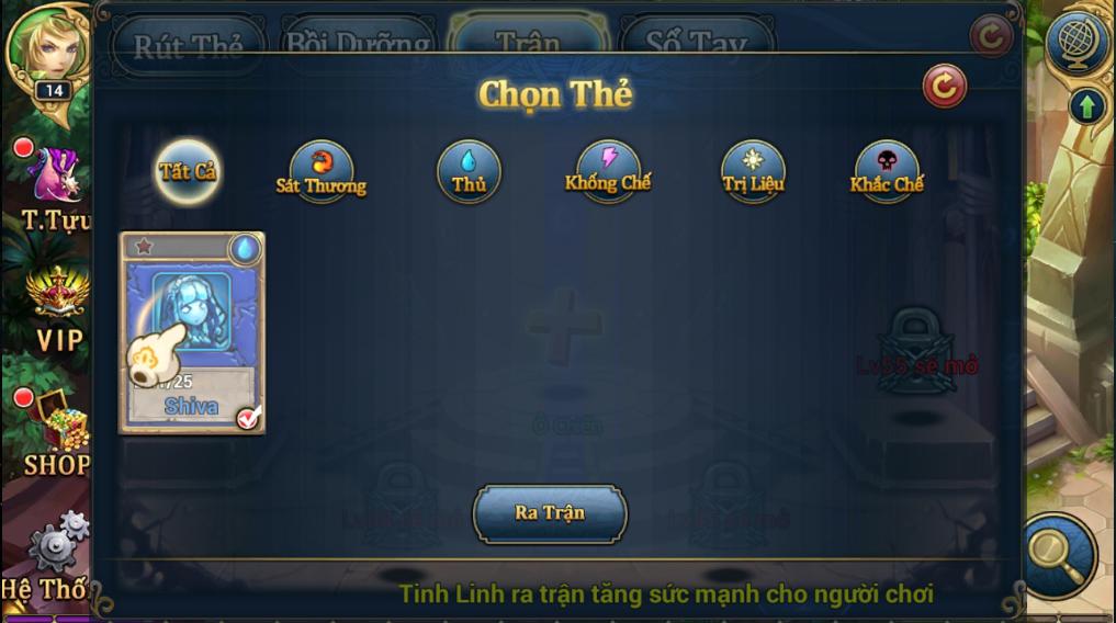 King Online - Tìm hiểu tính năng Tinh Linh 7