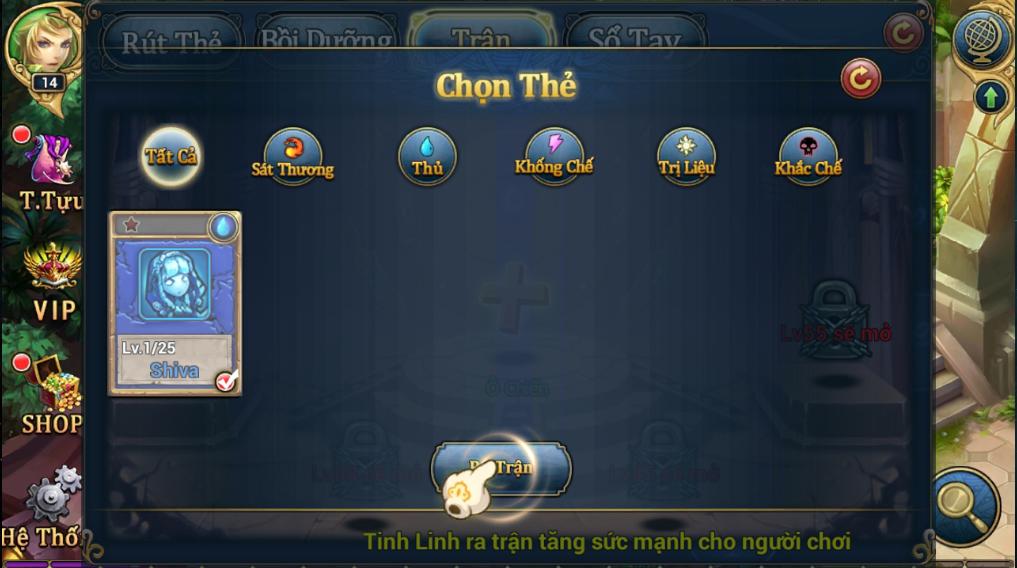 King Online - Tìm hiểu tính năng Tinh Linh 8