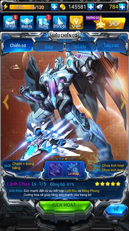 Chiến Cơ Huyền Thoại cập nhật phiên bản mới, có thể chiến đấu thời gian thực 2