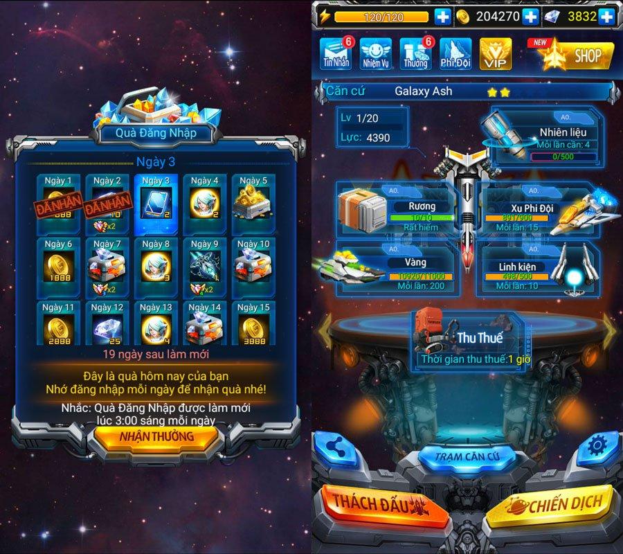 Chiến Cơ Huyền Thoại cập nhật phiên bản mới, có thể chiến đấu thời gian thực 4