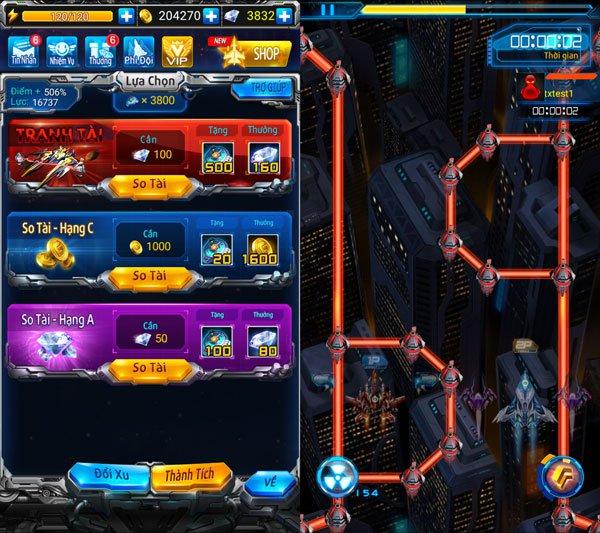 Chiến Cơ Huyền Thoại cập nhật phiên bản mới, có thể chiến đấu thời gian thực 5