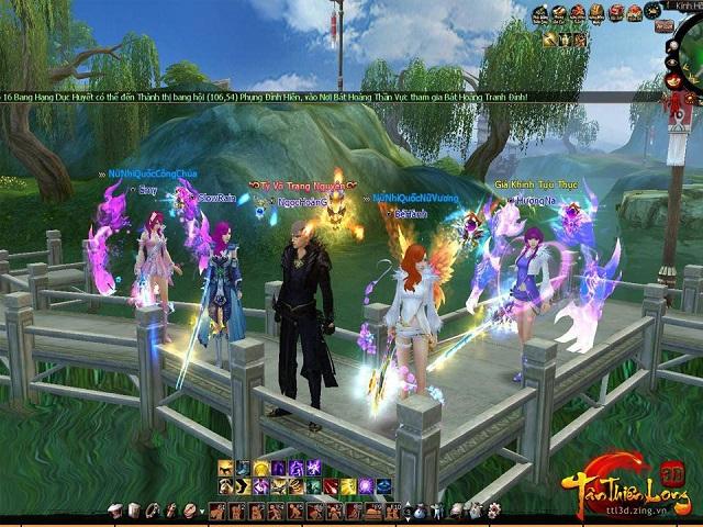 Game thủ Tân Thiên Long 3D háo hức với bản cập nhật tháng 3 5