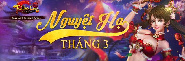 Game thủ Tân Thiên Long 3D háo hức với bản cập nhật tháng 3 6