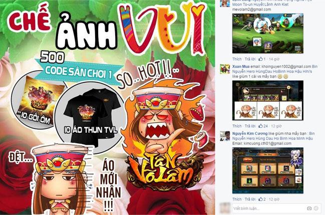 Mạng xã hội ngập tràn hình ảnh bộ sticker Tân Võ Lâm 1