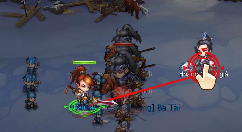 Thiếu Niên Tam Quốc - Tìm hiểu tính năng Điều binh khiển tướng 1