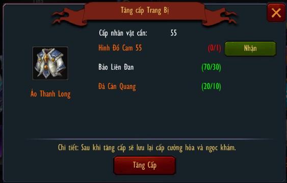 Chiến Thiên Tích - Tìm hiểu tính năng Trang bị 6