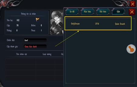 Chiến Thiên Tích - Tìm hiểu tính năng Thi Đấu Cặp 5