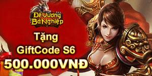 Tặng 510 giftcode game Đế Vương Bá Nghiệp