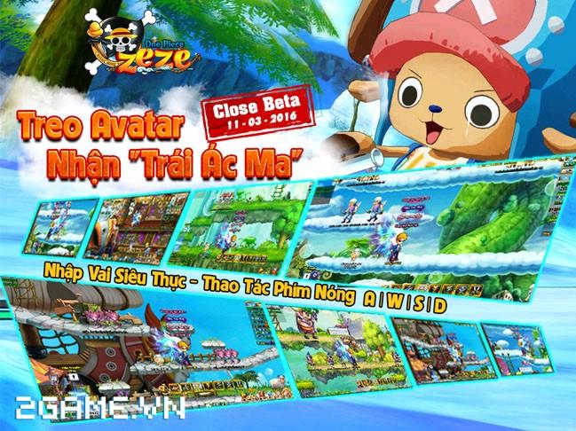 Hé lộ teaser cực cool của game hành động One Piece ZeZe 0