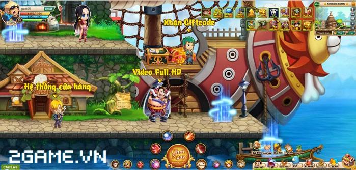 Hé lộ teaser cực cool của game hành động One Piece ZeZe 1